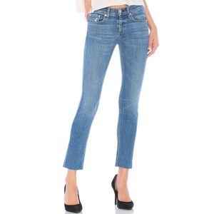 Rag & Bone Ambra ankle dre skinny capri jeans